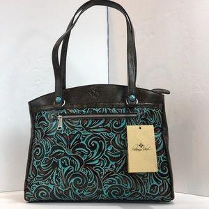 Patricia Nash Tooled poppy tote Shoulder Bag